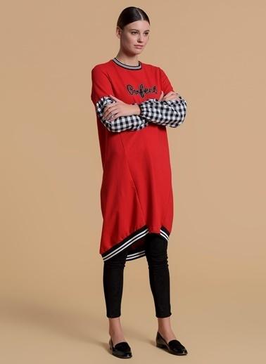 Moodbasic Tunik Kırmızı